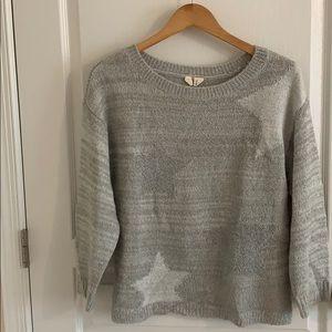 Grey Anthropologie Sweater - Super Soft Yarn!!